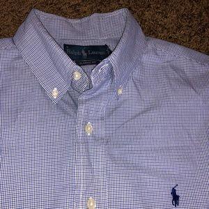 New Ralph Lauren blue button down